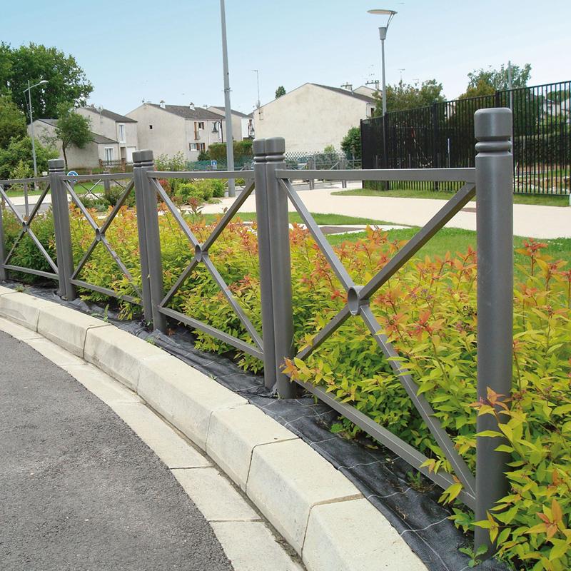 mobilier urbain barrière de ville