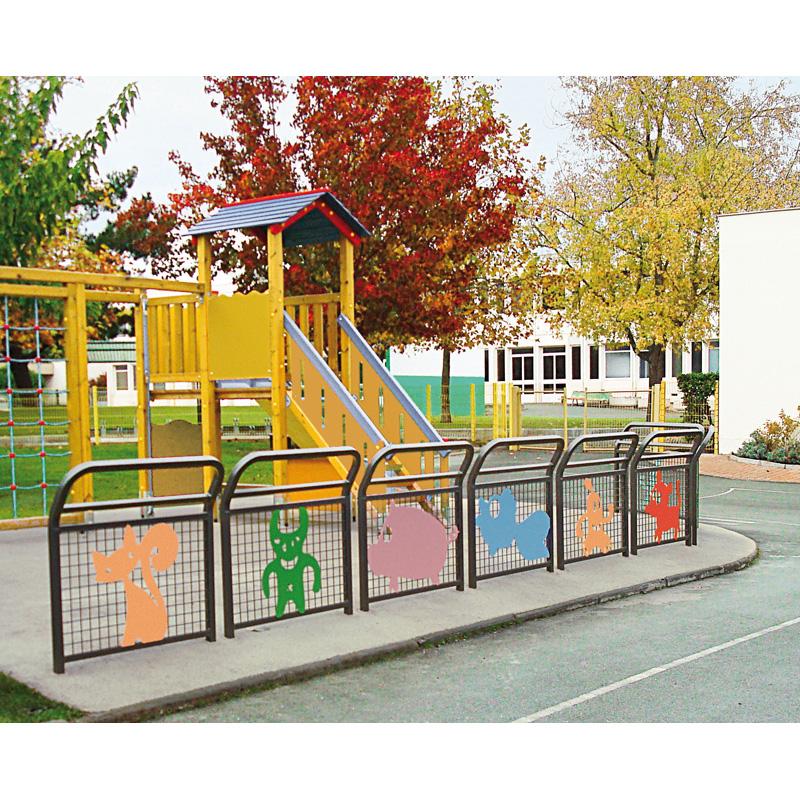 Barrières pour aires de jeux
