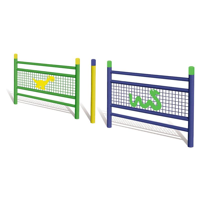 Barrières avec décoration enfantines