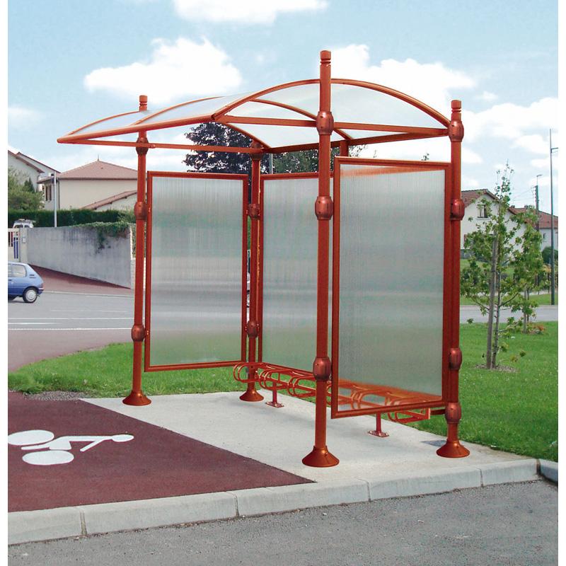 Abri pour cycles