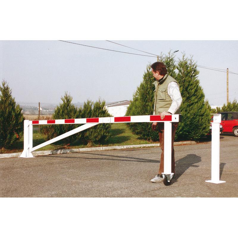 Barrière très grande longeur