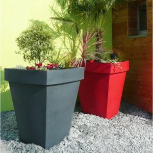 Grand pots pour plantes extérieures