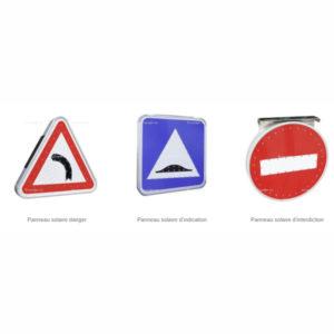 panneau de signalisation lumineux