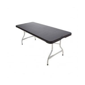 Table professionnelle pliante résistante