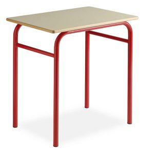 Table scolaire trad monoplace et bibplace