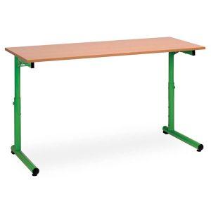 table scolaire monoplace ou biplace studio réglable en hauteur